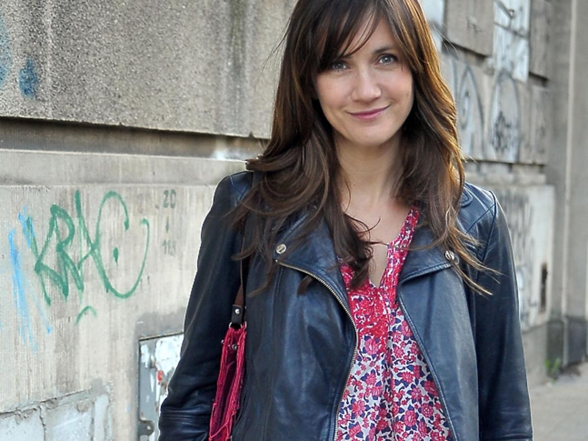 Ilona Ostrowska w ciąży