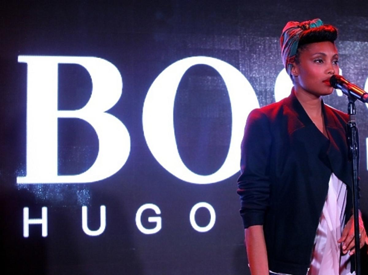 Imany podczas BOSS Fashion Event w Galerii Mokotów