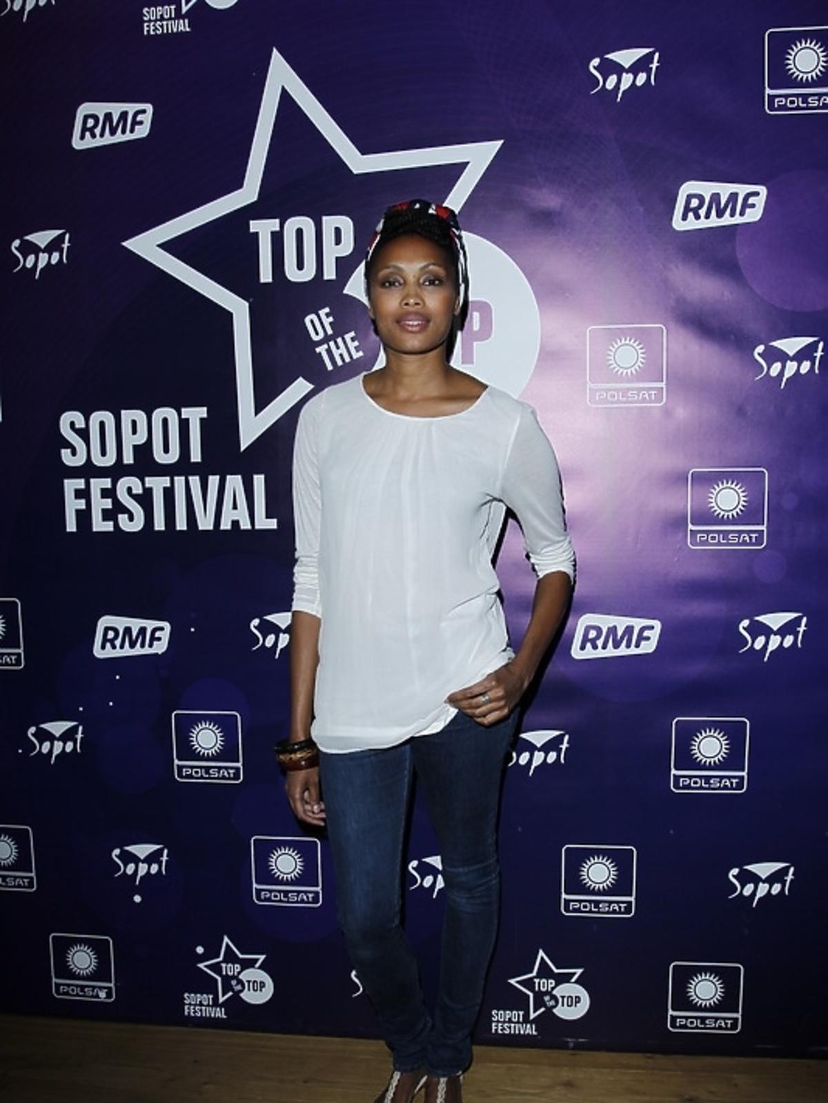 Imany podczas konferencji Sopot Top of the Top Festival 2013