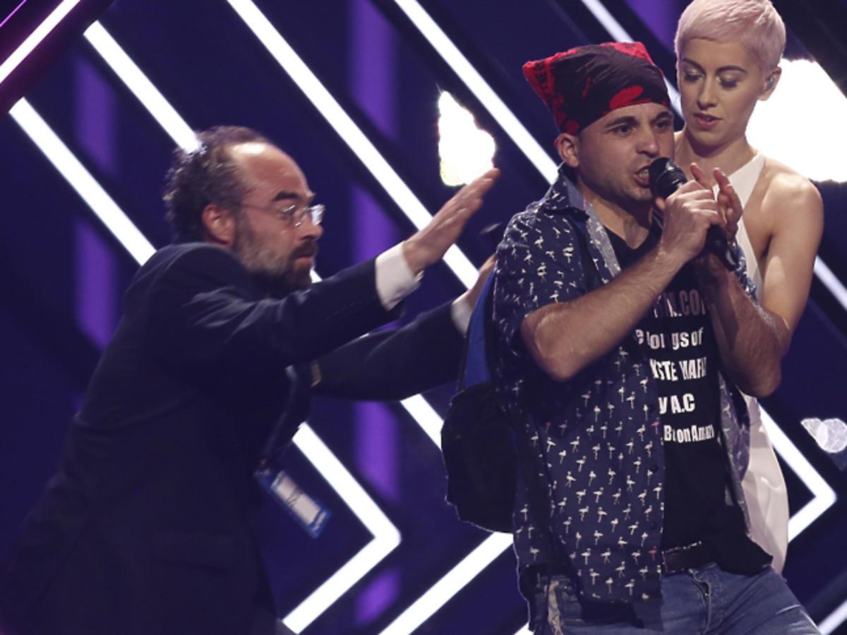 Incydent podczas występów na Eurowizji 2018
