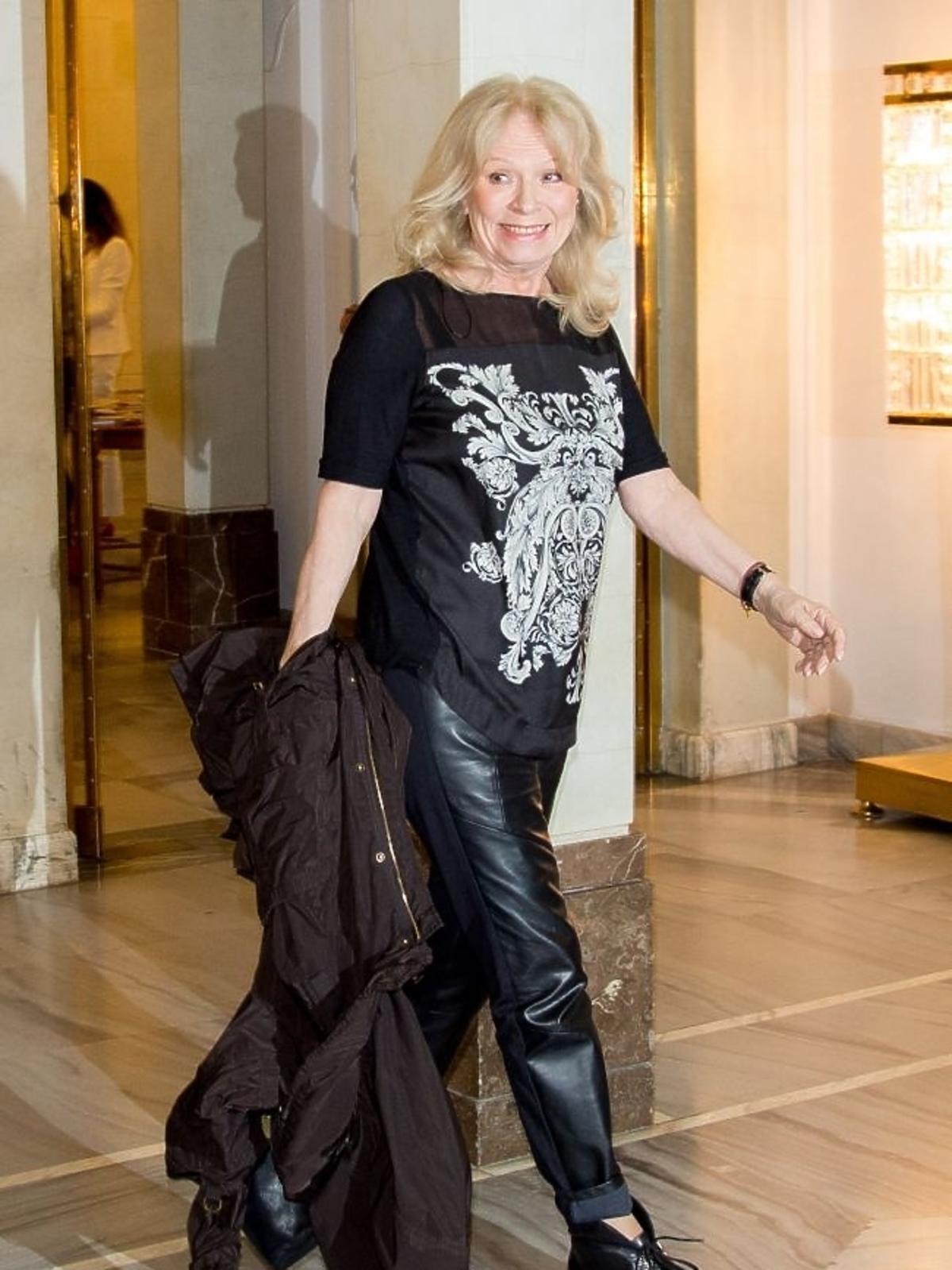 Irena Karel na 10-leciu Polskiego Instytutu Sztuki Filmowej