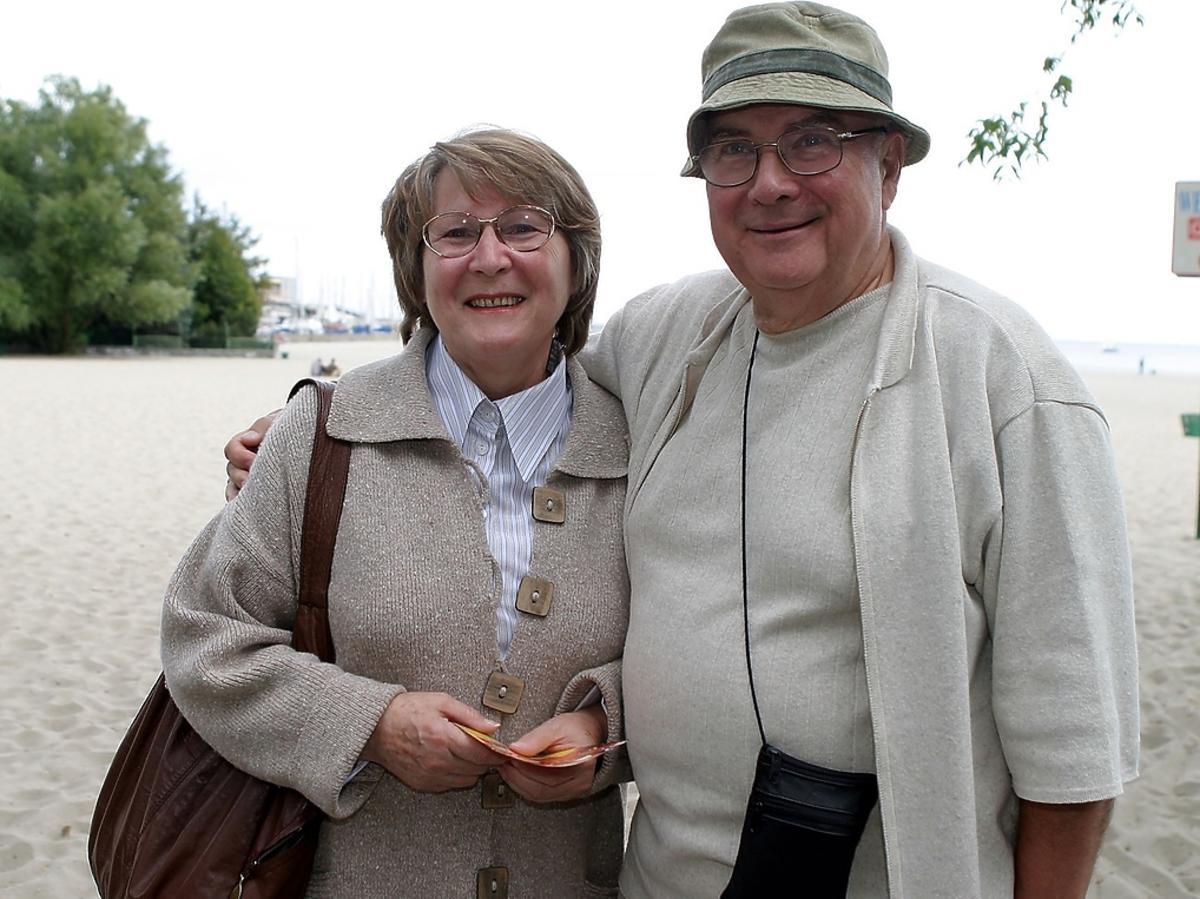 Irena Santor z mężem, Zbigniewem Korpolewskim