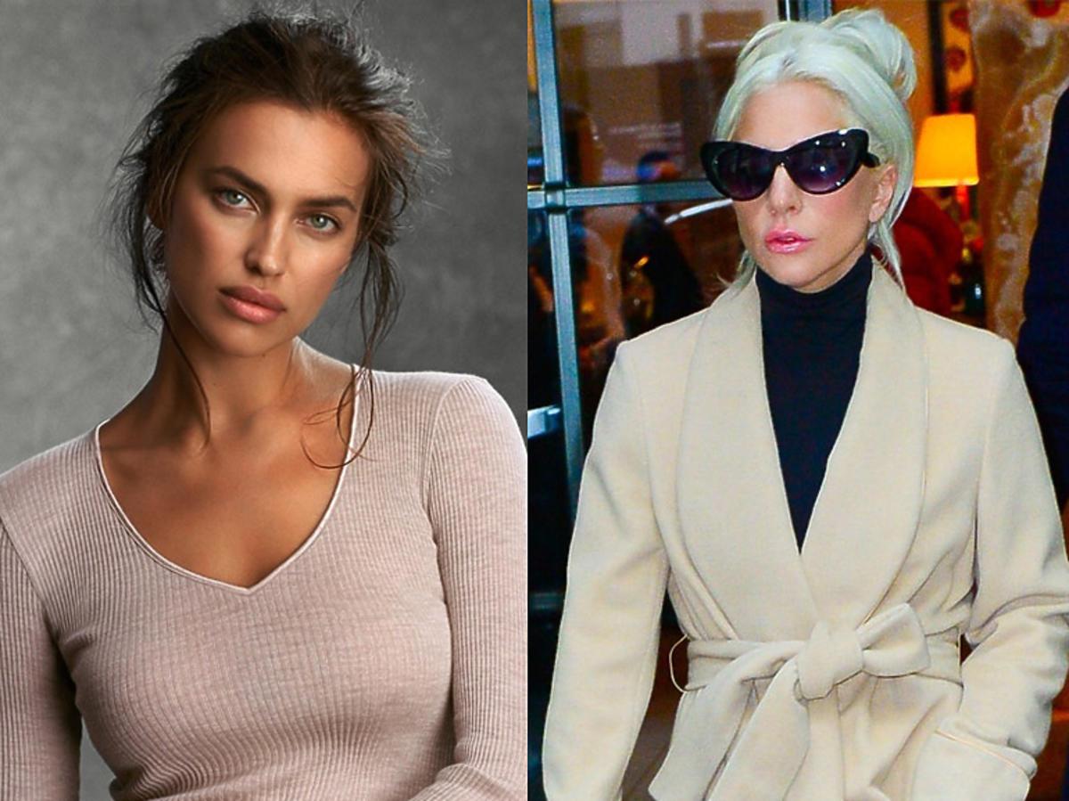 Irina Shayk i Lady Gaga