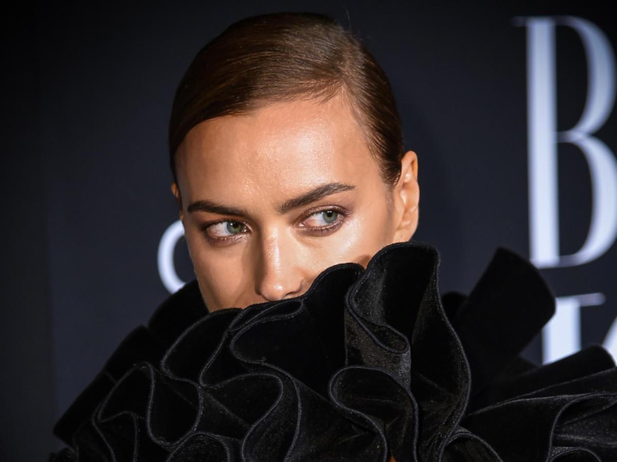 Irina Shayk w kreacji z H&M