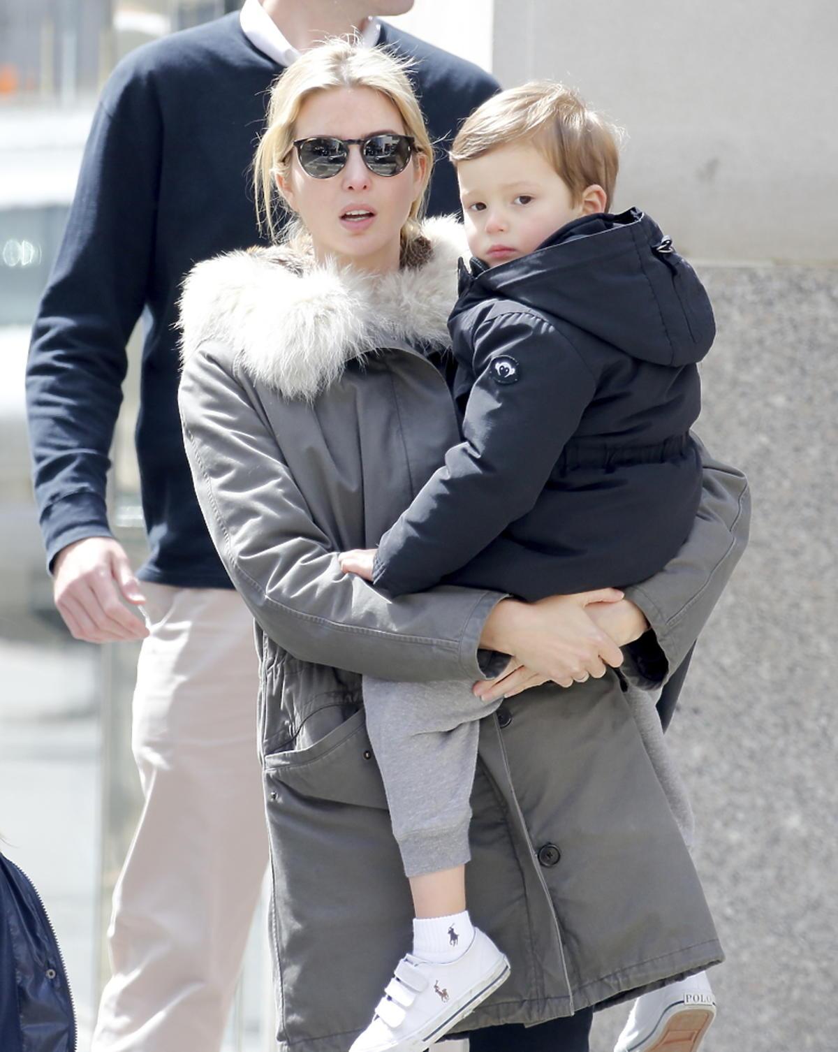 Ivanka Trump z dziećmi