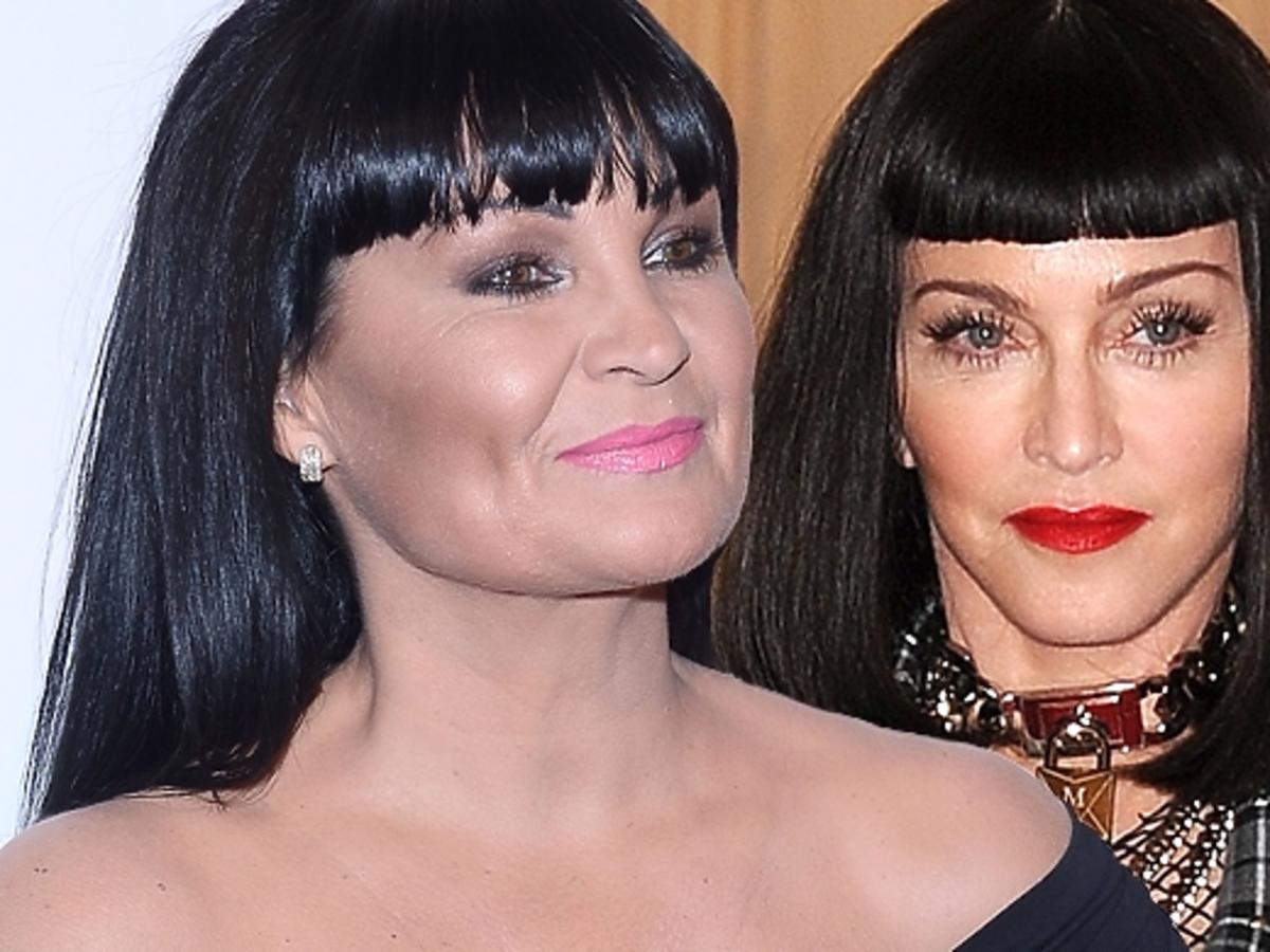 Iwona Pavlović skopiowała Madonnę. Iwona Pavlović w stroju Madonny. Iwona Pavlović jako Madonna w Tańcu z Gwiazdami
