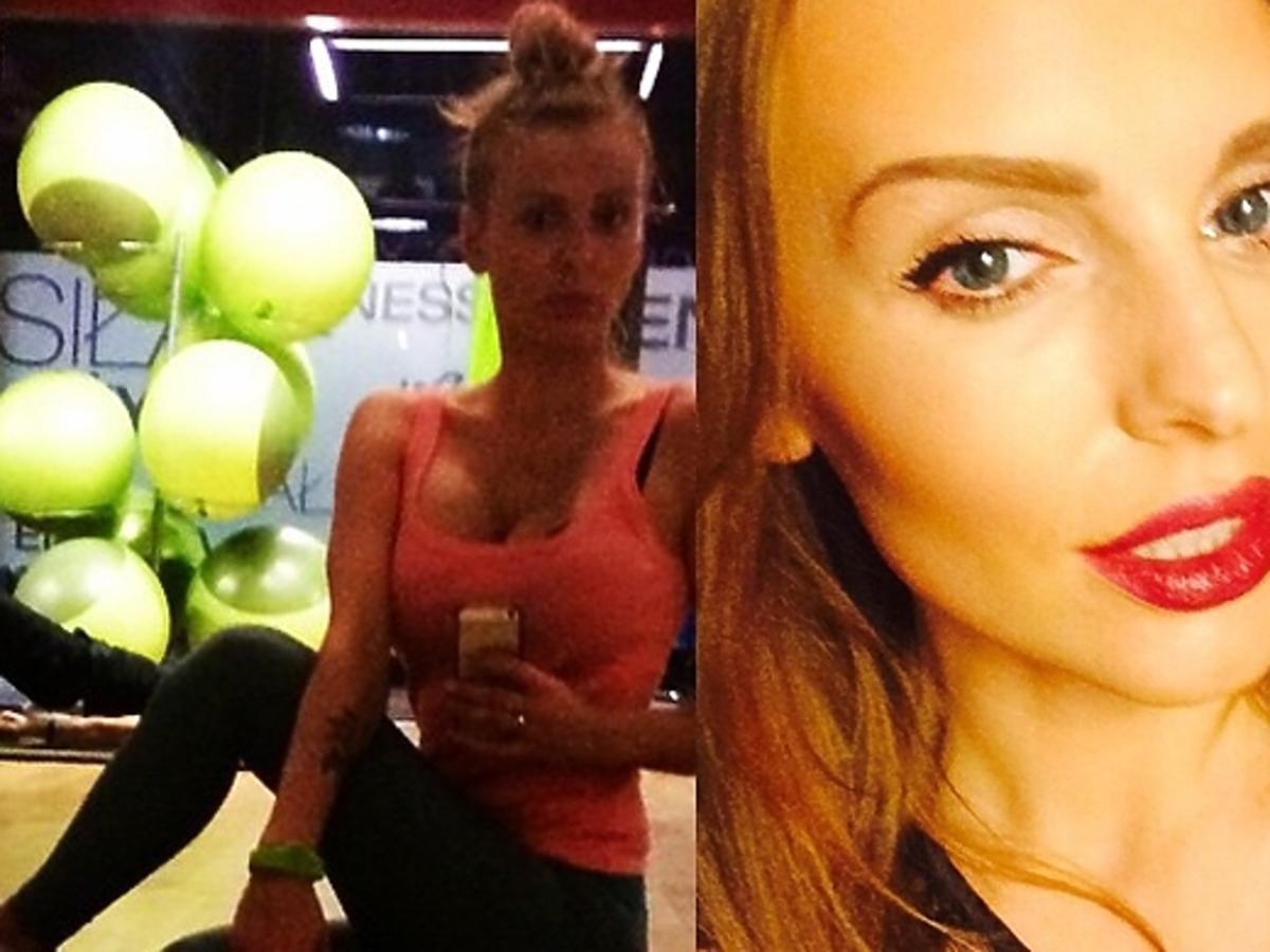 Izabela Adamczyk ćwiczy jogę na Instagramie