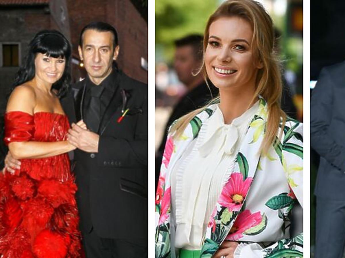 Izabela Janachowska komentuje kolorowe suknie ślubne gwiazd