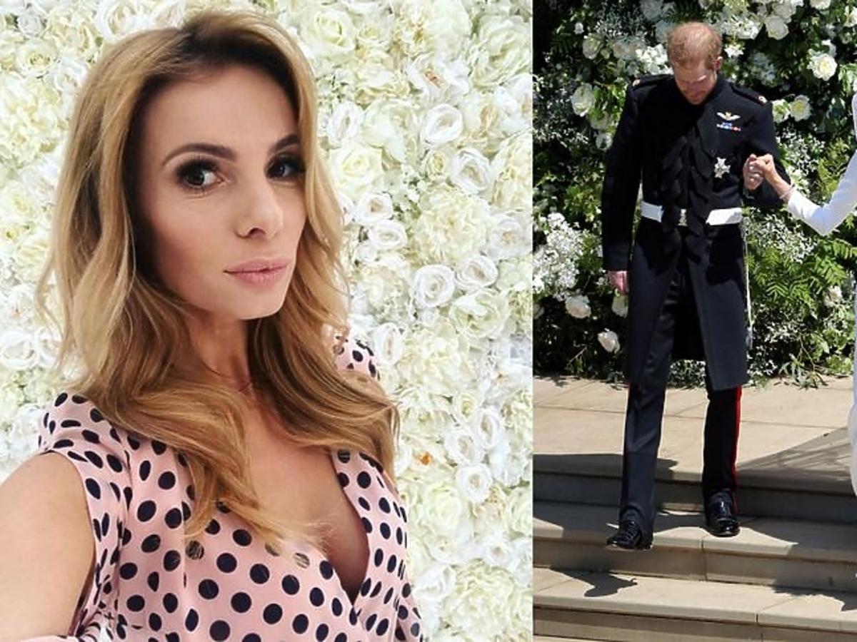 Izabela Janachowska krytycznie ocenia suknię ślubną Meghan Markle