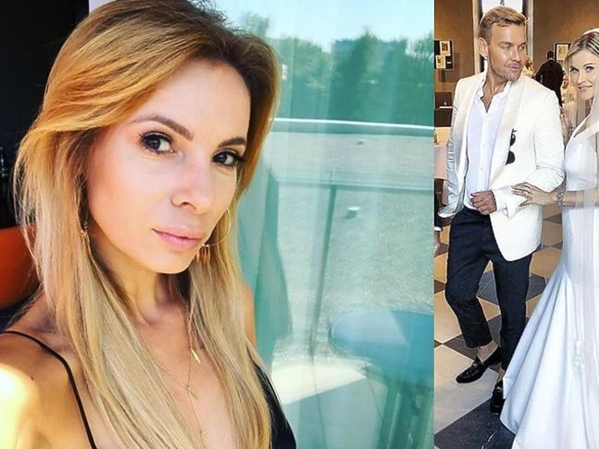 Izabela Janachowska oceniła suknię ślubną Joanny Krupy