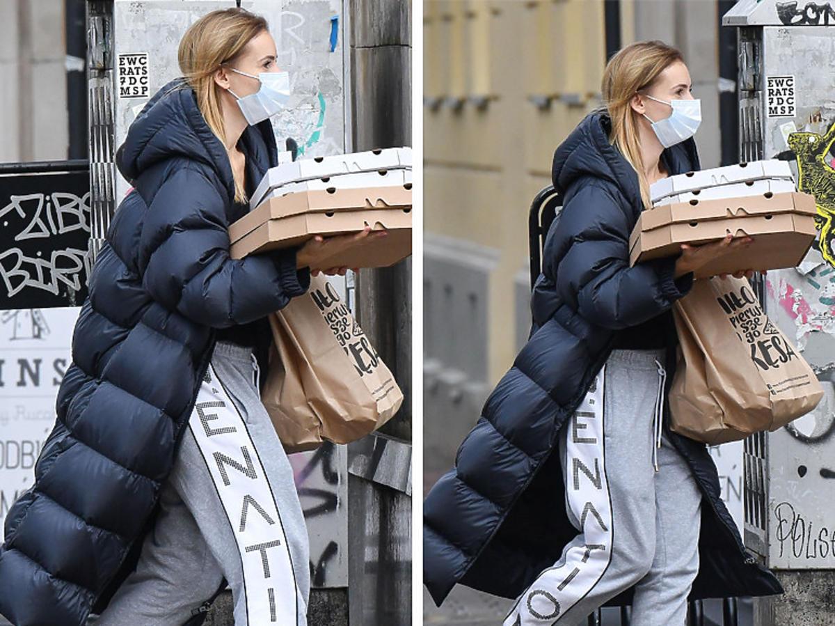 Izabela Janachowska w sneakersach Chanel