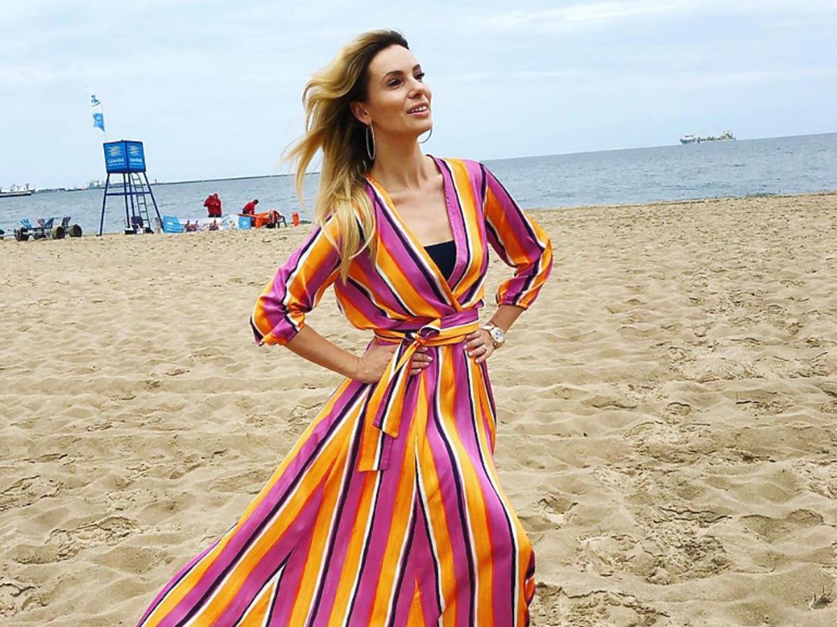 Izabela Janachowska w sukience Maare za 599 zł