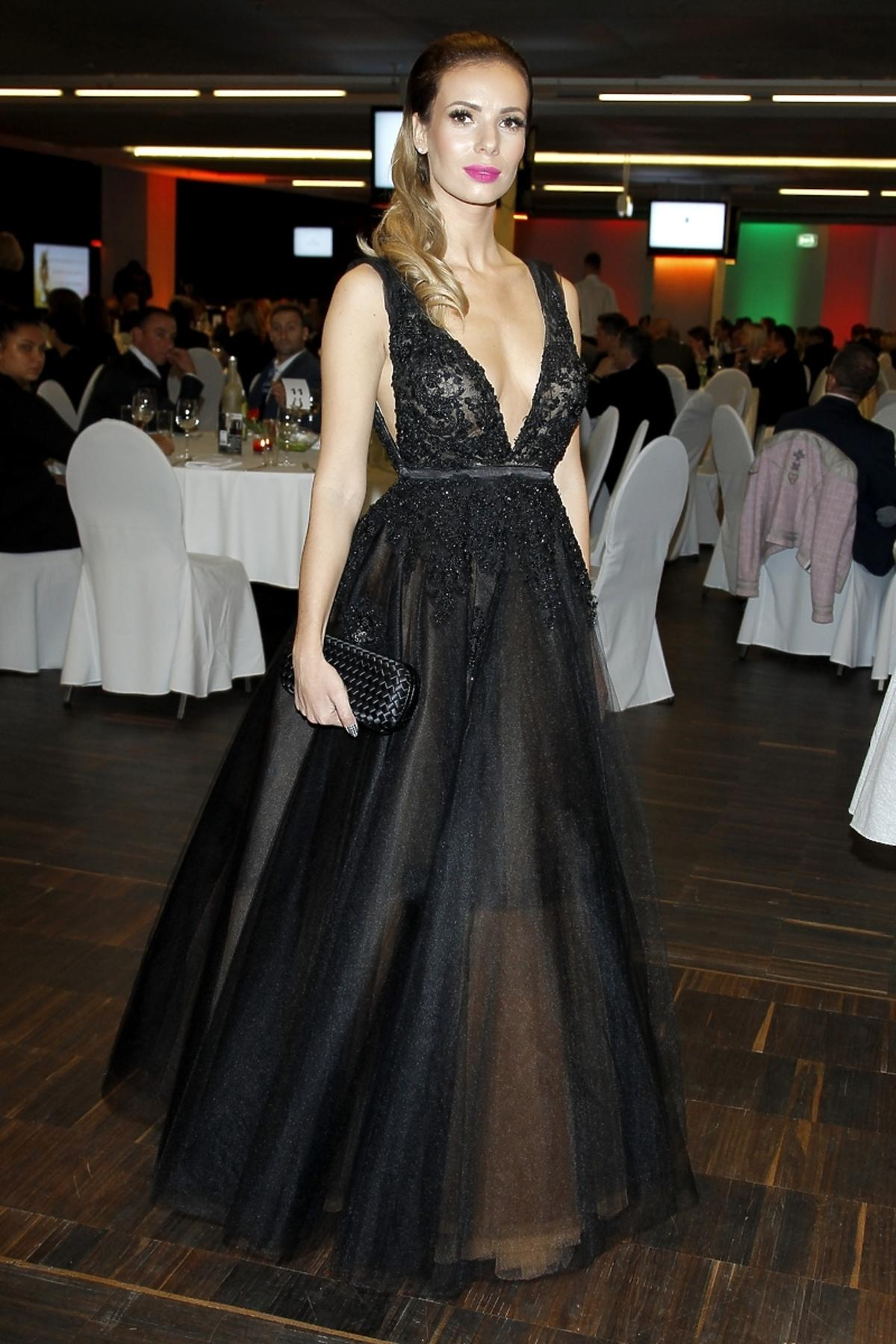 Izabela Janchowska na V Charytatywnej Gali Sportu i Biznesu