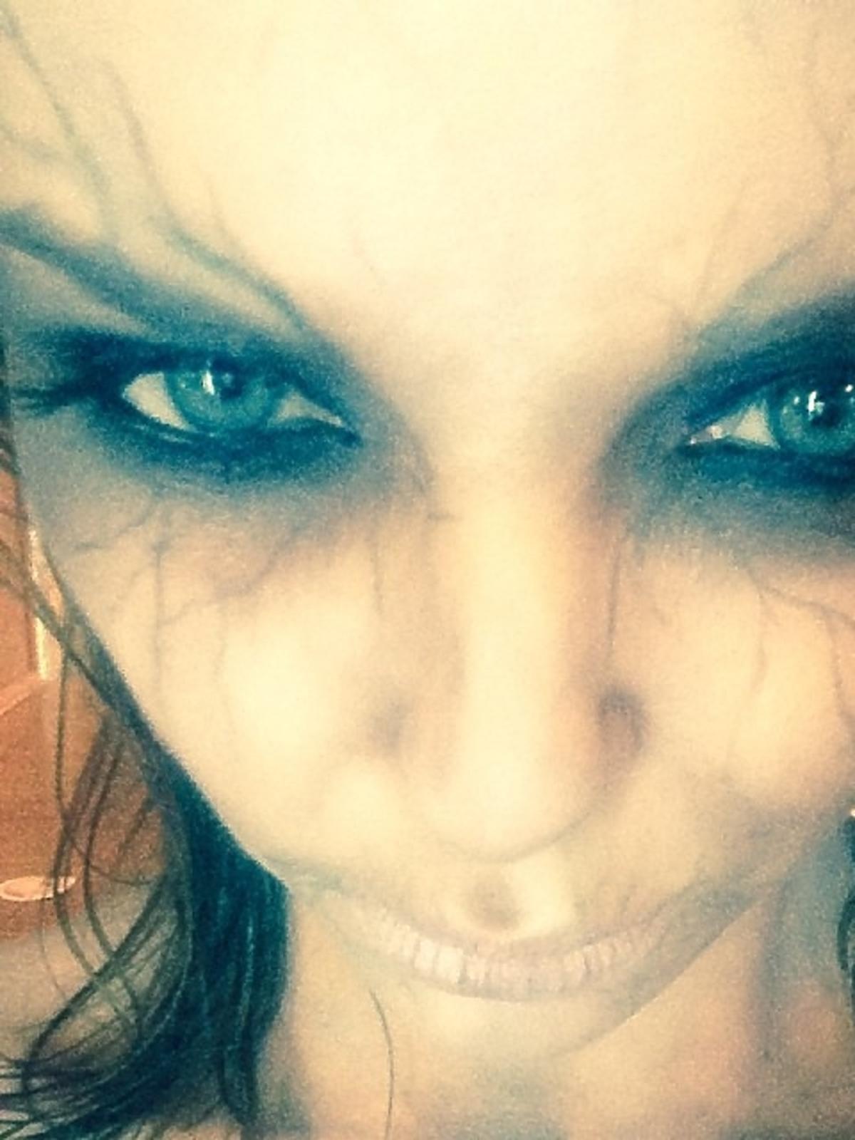 Izabela Miko podczas Halloween 2013