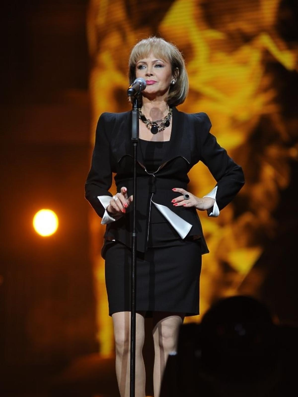 Izabela Trojanowska podczas pierwszego dnia Sopot Top of the Top Festival 2013
