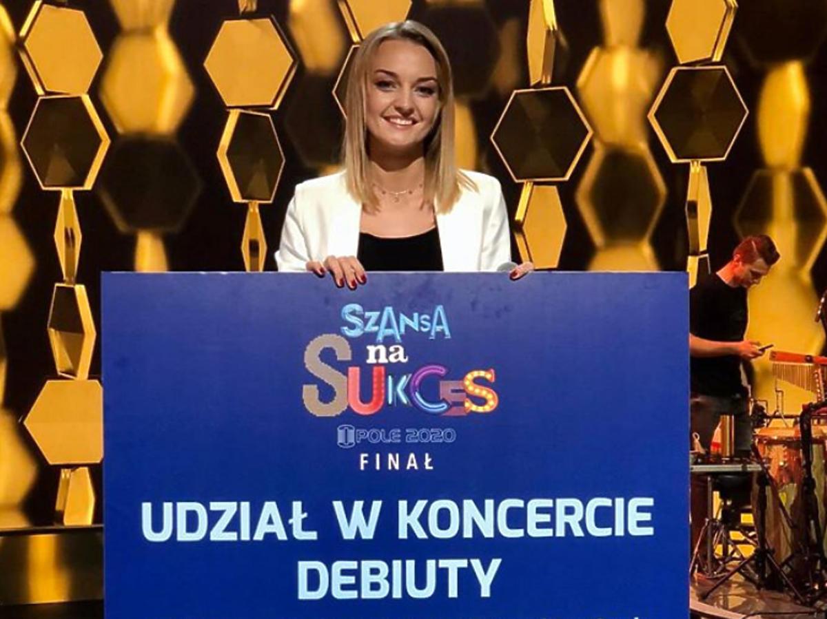 """Izabela Zalewska wygrała """"Szansę na sukces"""""""
