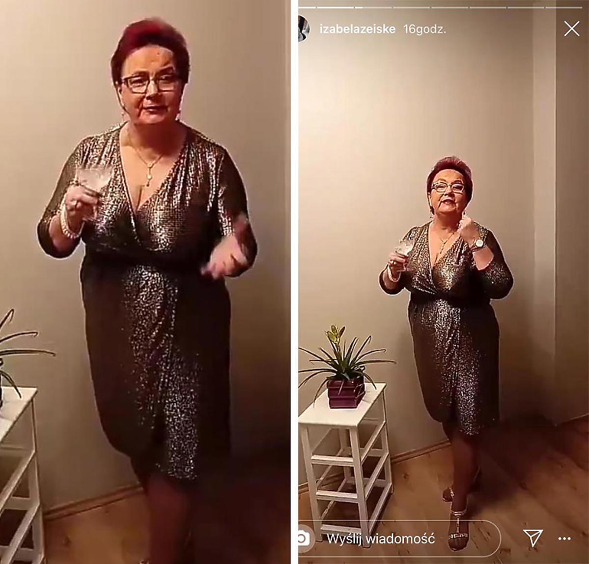 Izabela Zeiske na Sylwestra 2019/2020