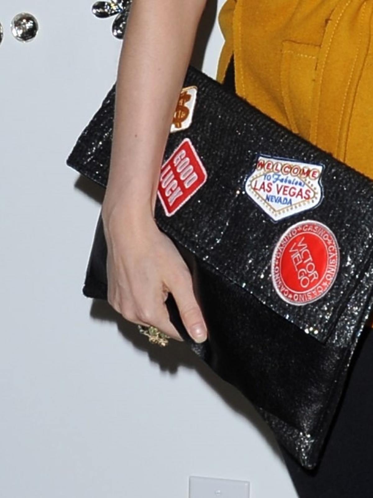 Izabella Miko na imprezie w Hollywood