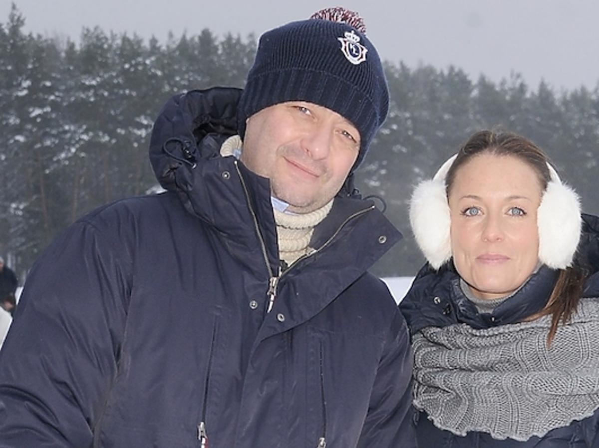 Jacek i Małgorzata Rozenek z synem spędzą święta po bożemu