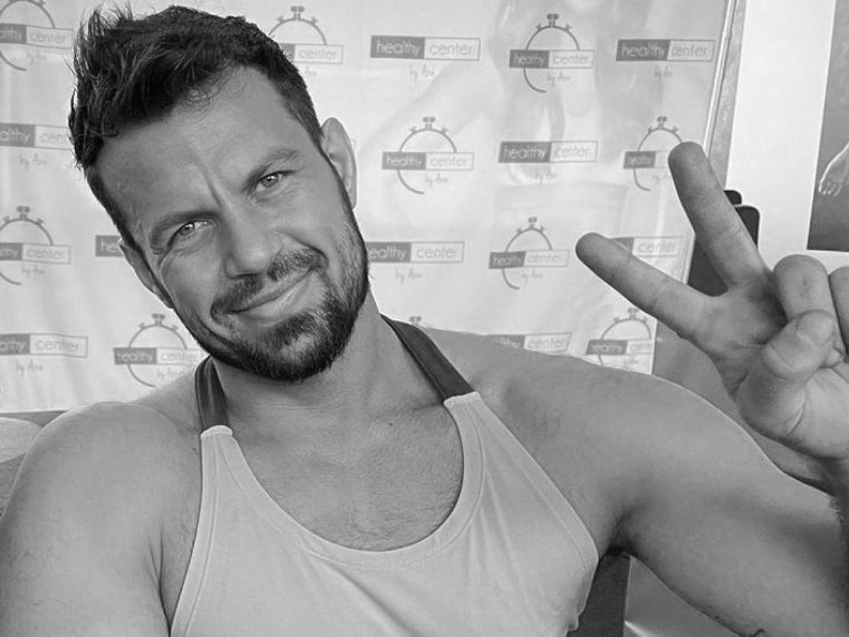 Jacek Kramek- czarno-białe zdjęcie trenera