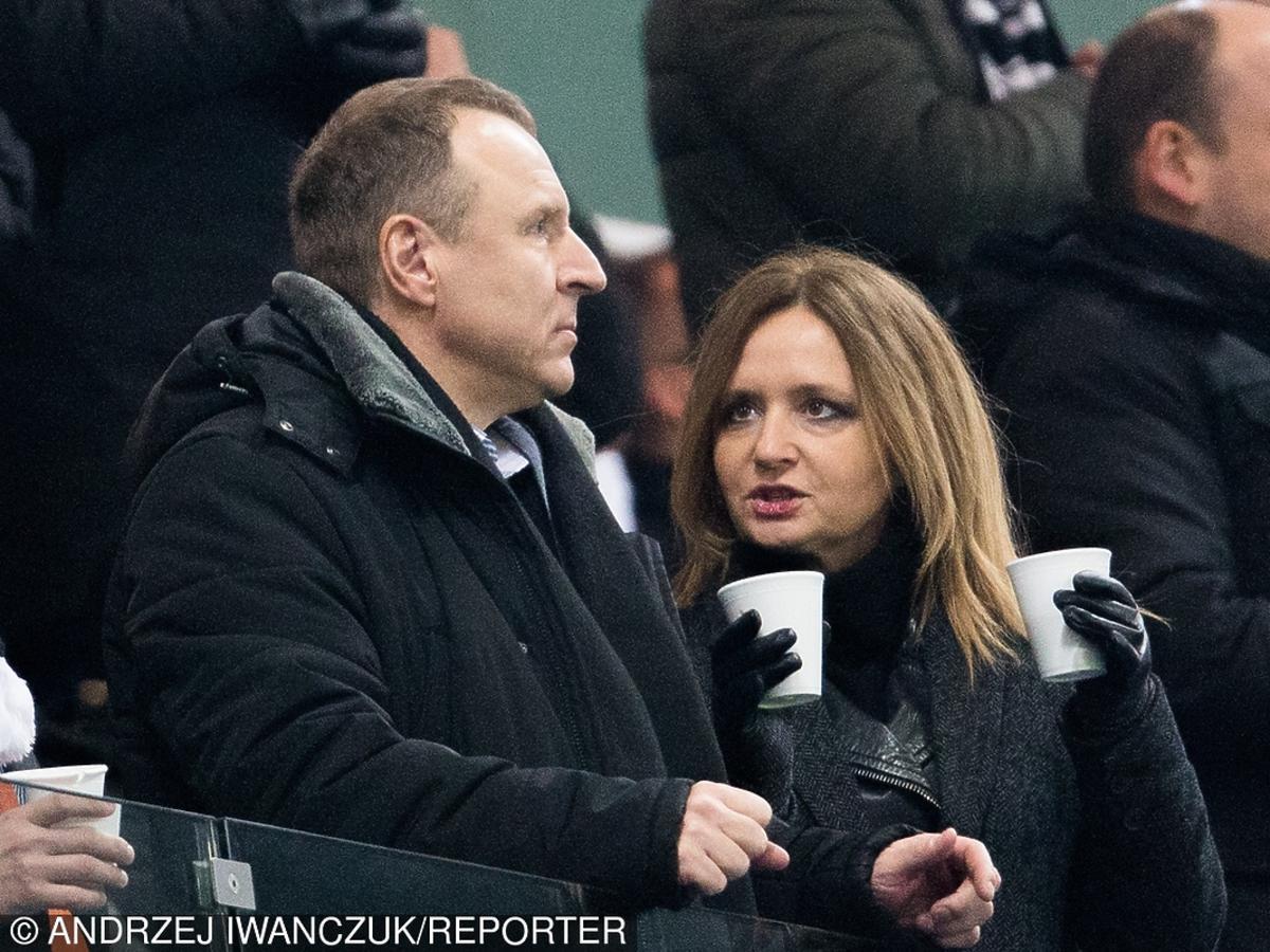 Jacek Kurski i Joanna Klime
