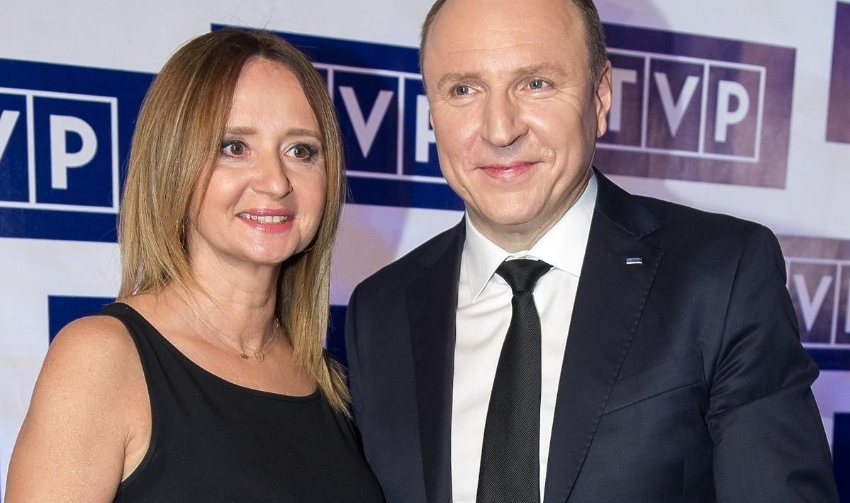Jacek Kurski i Joanna Klimek