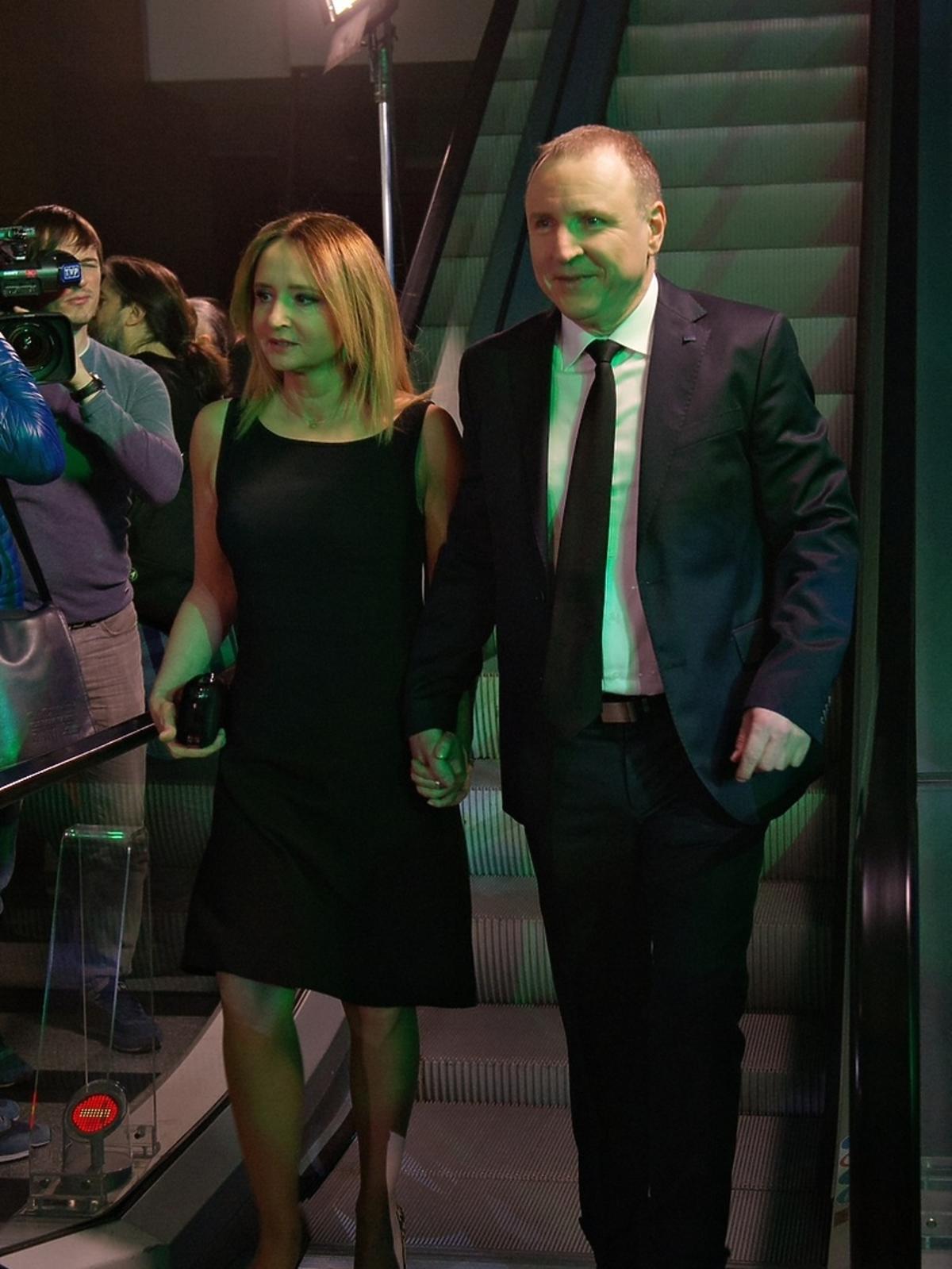 Jacek Kurski i Joanna Klimek na ramówce TVP