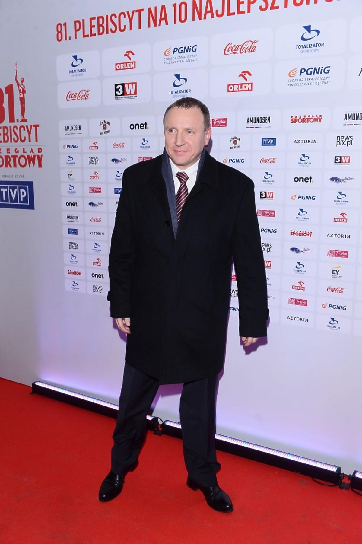 Jacek Kurski na Gali Mistrzów Sportu