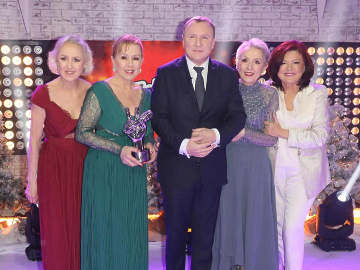Jacek Kurski, siostry Szydłowskie i Urszula Dudziak w finale The Voice Senior