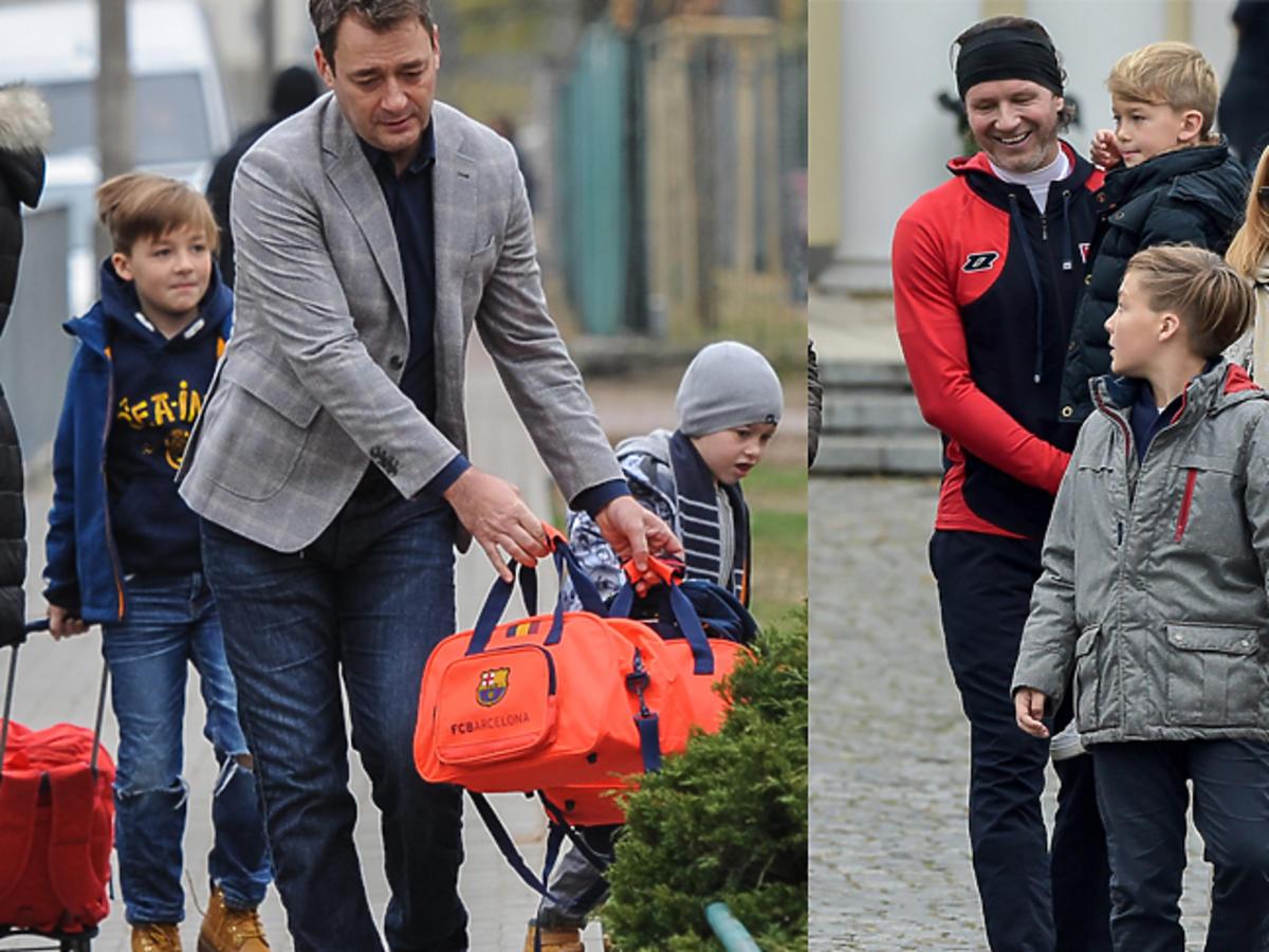 Jacek Rozenek o dzieciach