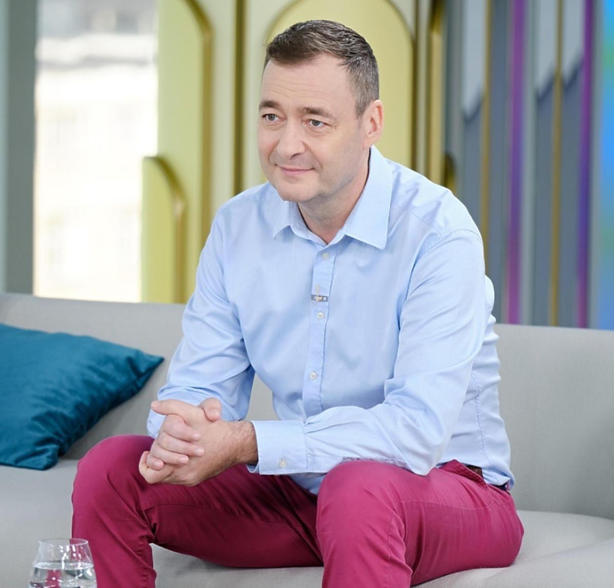 Jacek Rozenek w programie