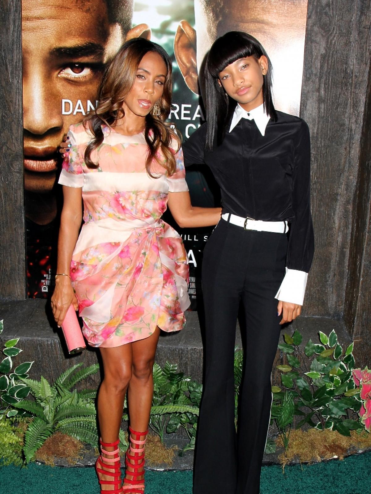 Jada Pinkett-Smith z córką