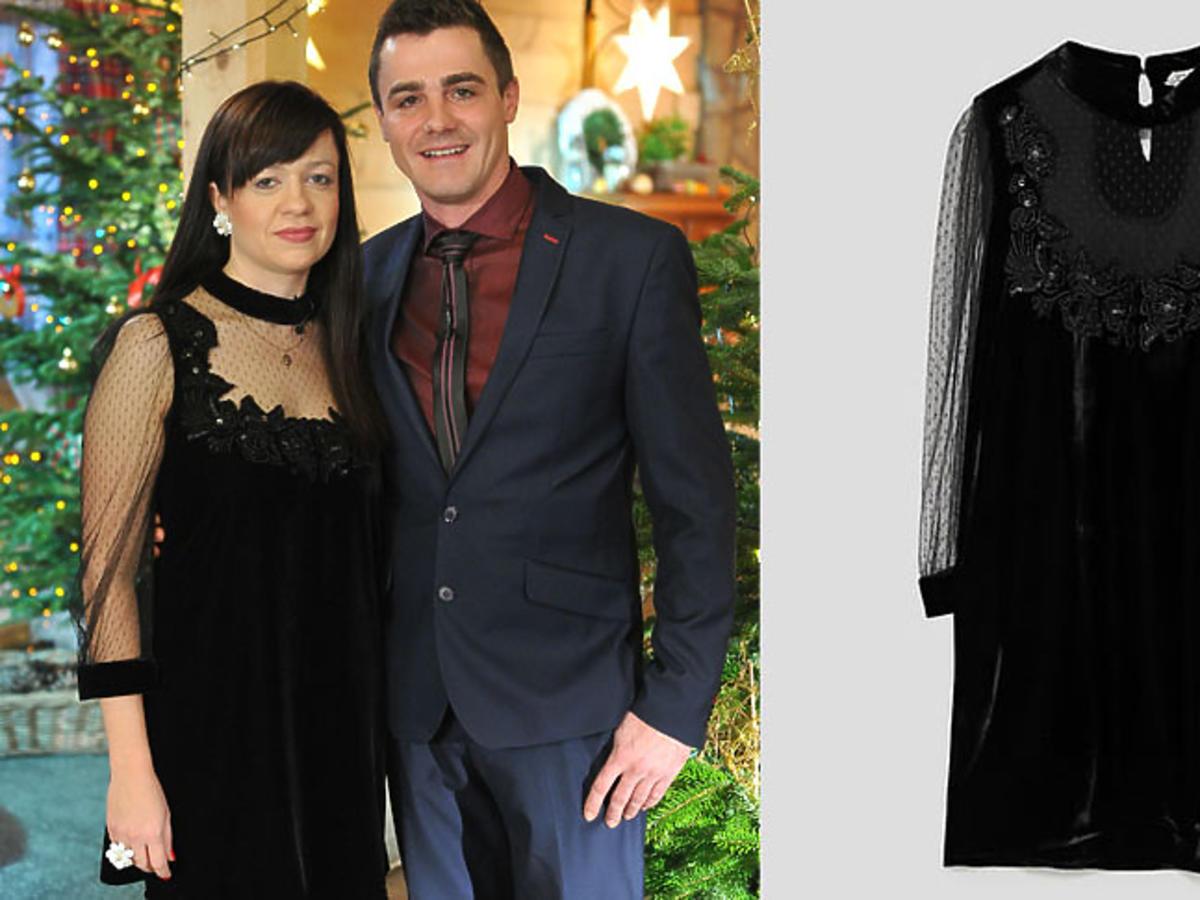 Jagoda z Rolnik szuka żony 4 w sukience z Zary