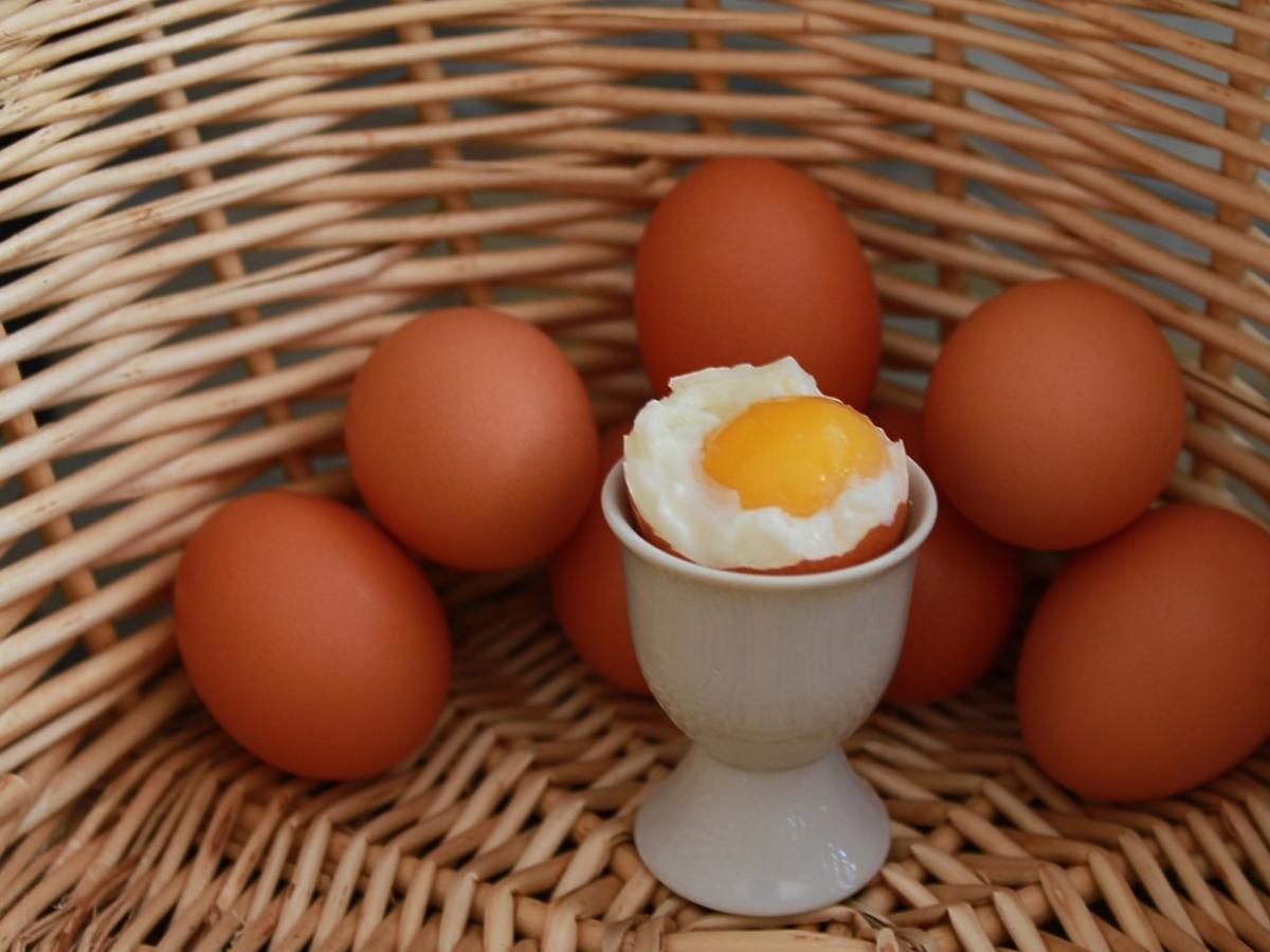 Jajko na miękko