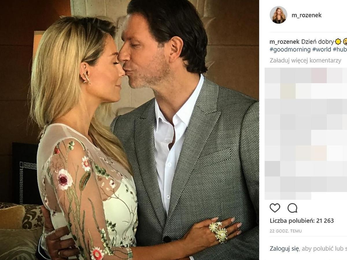 Jak Małgorzata Rozenek i Radosław Majdan spędzili pierwszą rocznicę ślubu?