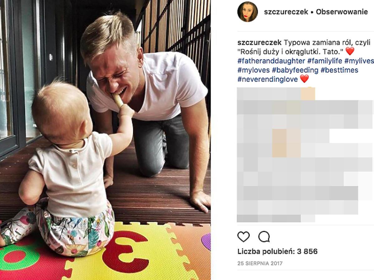 Jak mieszka Kuba Wesołowski z żoną i córką?