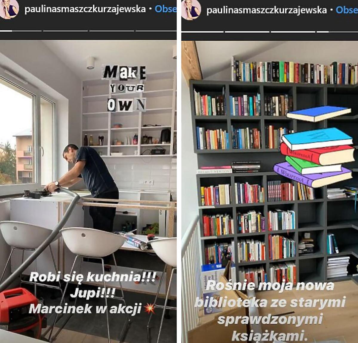 Jak mieszka Paulina Smaszcz-Kurzajewska?