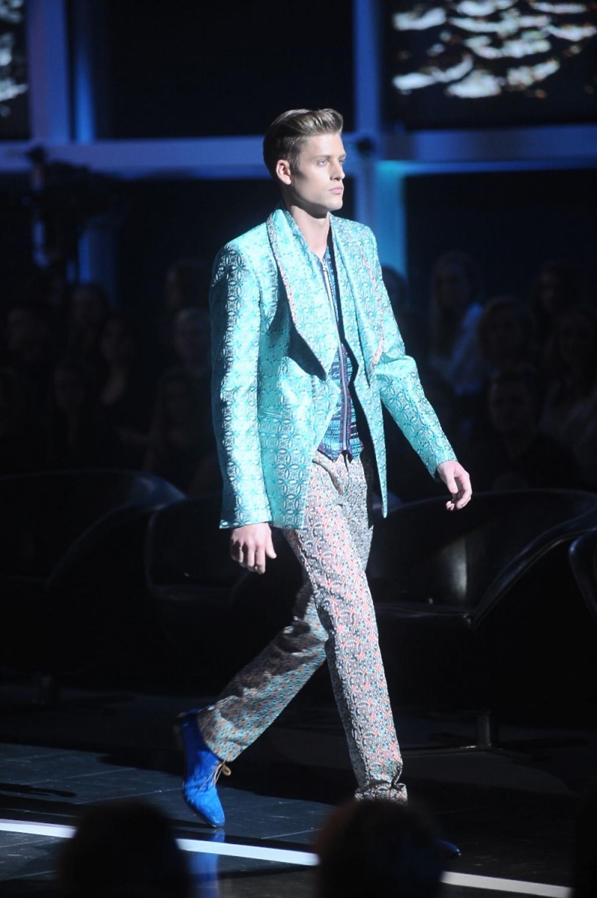Jakob Kosel w finale Top Model