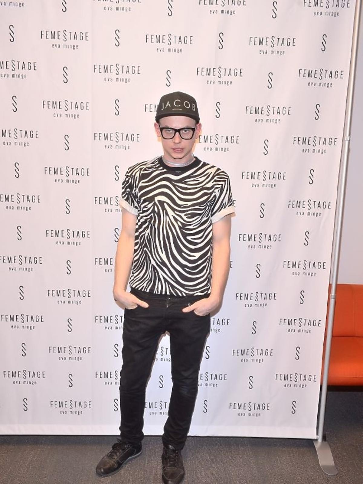 Jakub Bartnik na Fashion Week w Łodzi