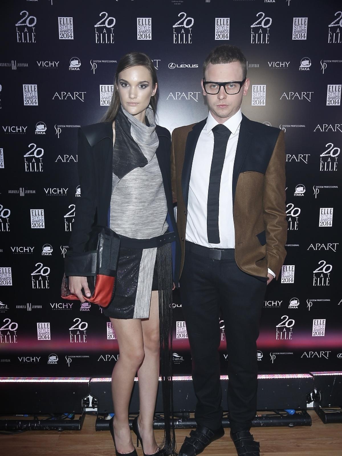 Jakub Jacob Bartnik na Elle Style Awards 2014