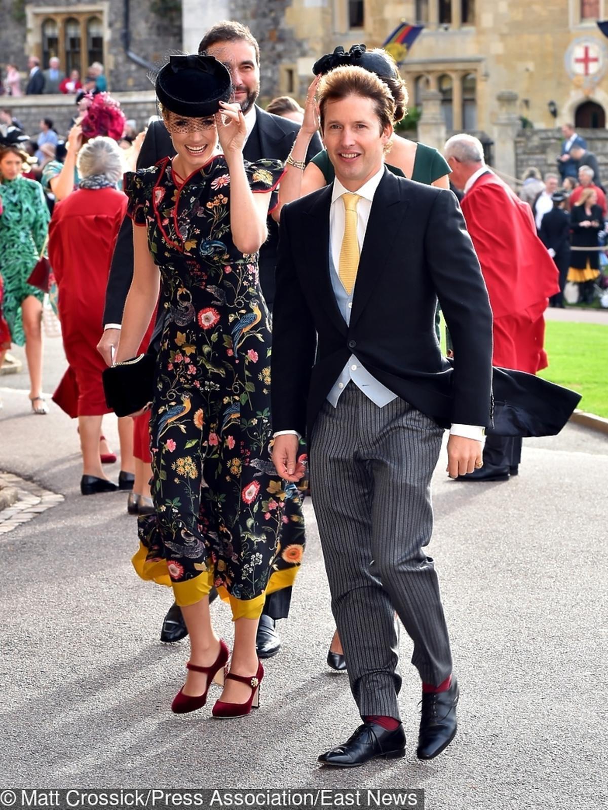 James Blunt na ślubie księżniczki Eugenii