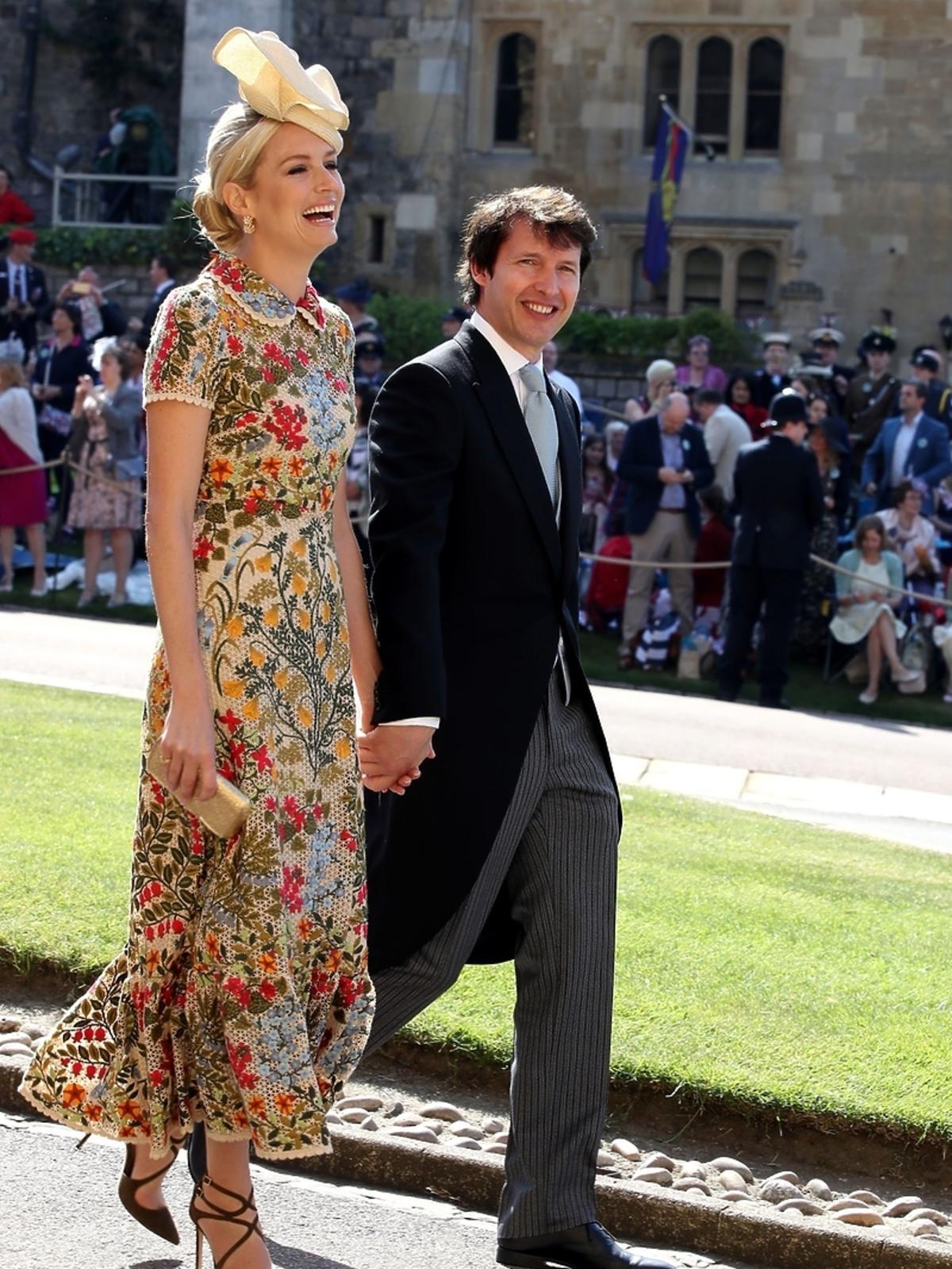 James Blunt na ślubie Meghan Markle i księcia Harry'ego