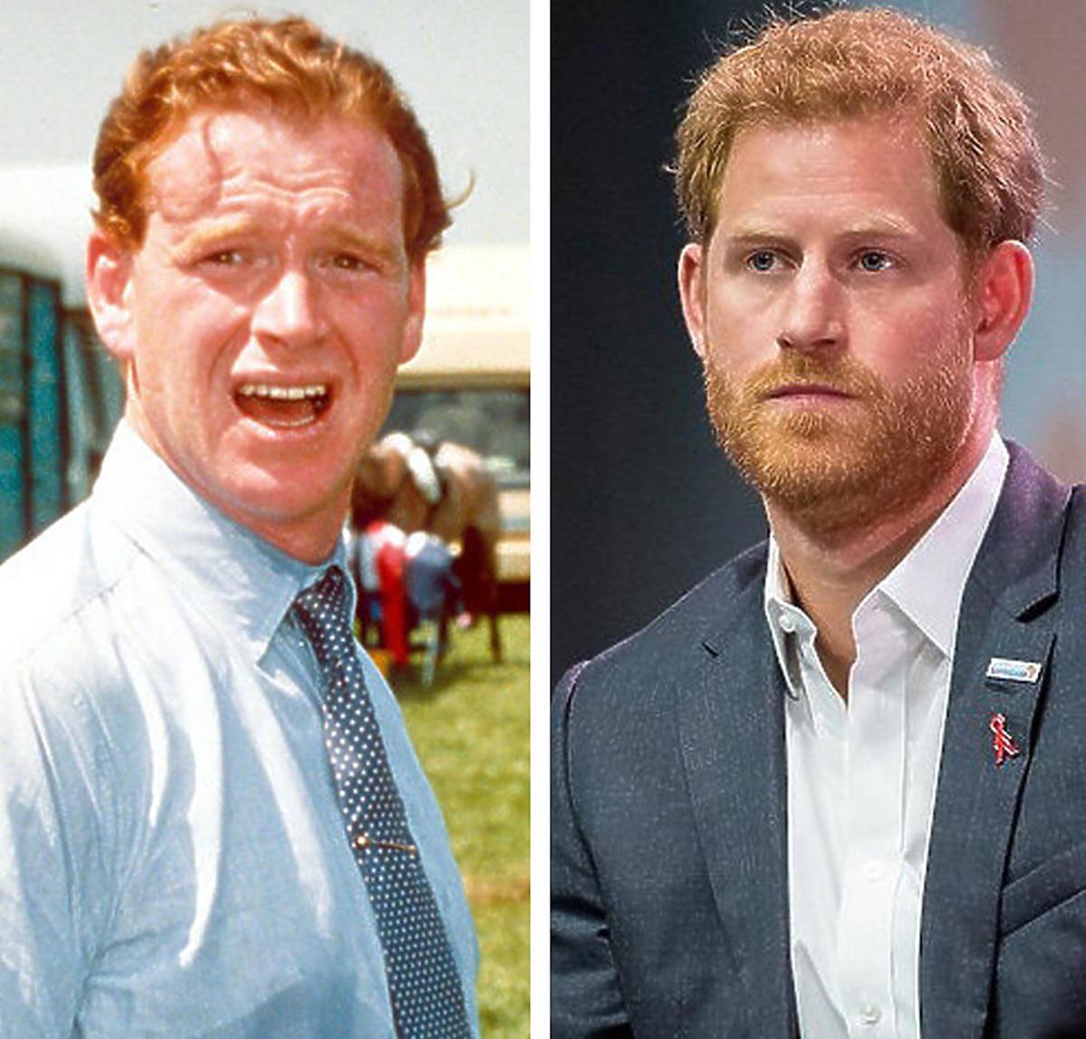 James Hewitt jest biologicznym ojcem księcia Harry'ego?