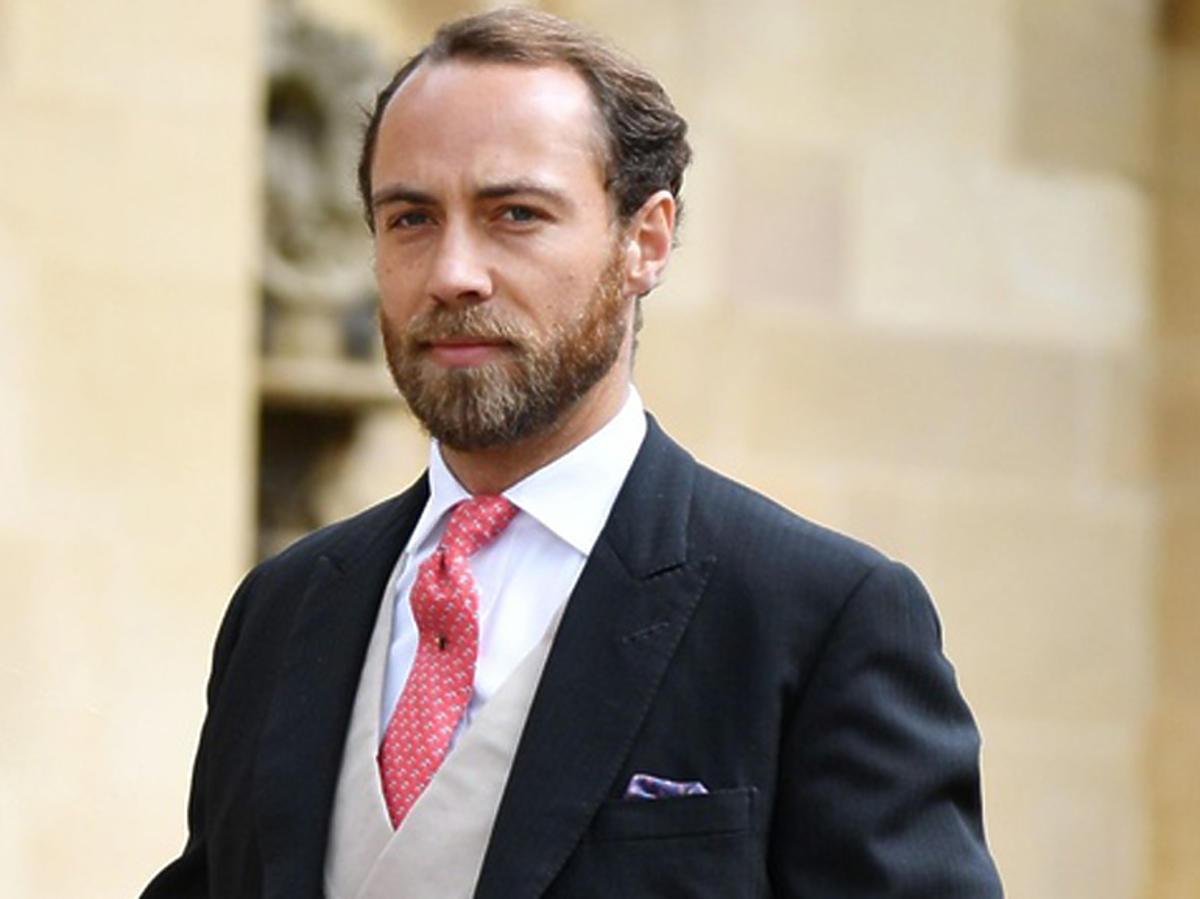 James Middleton na ślubie w rodzinie królewskiej