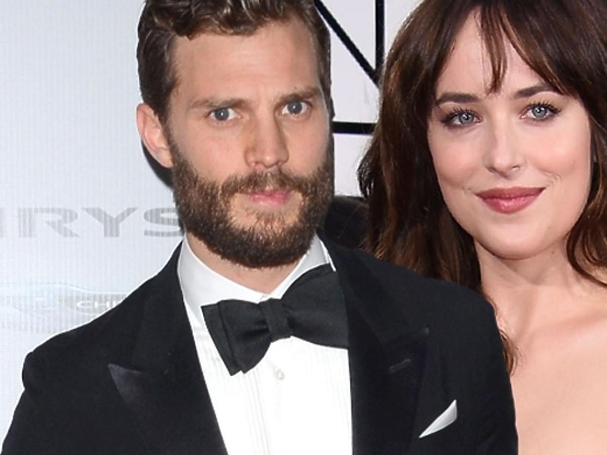 "Jamie Dornan i Dakota Johnson o scenach seksu w ""50 twarzach Greya"""