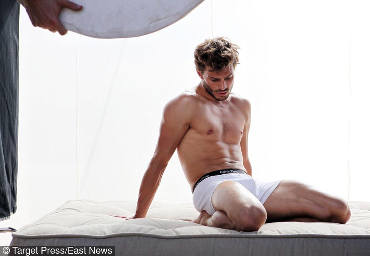 Jamie Dornan zaczynał jako model