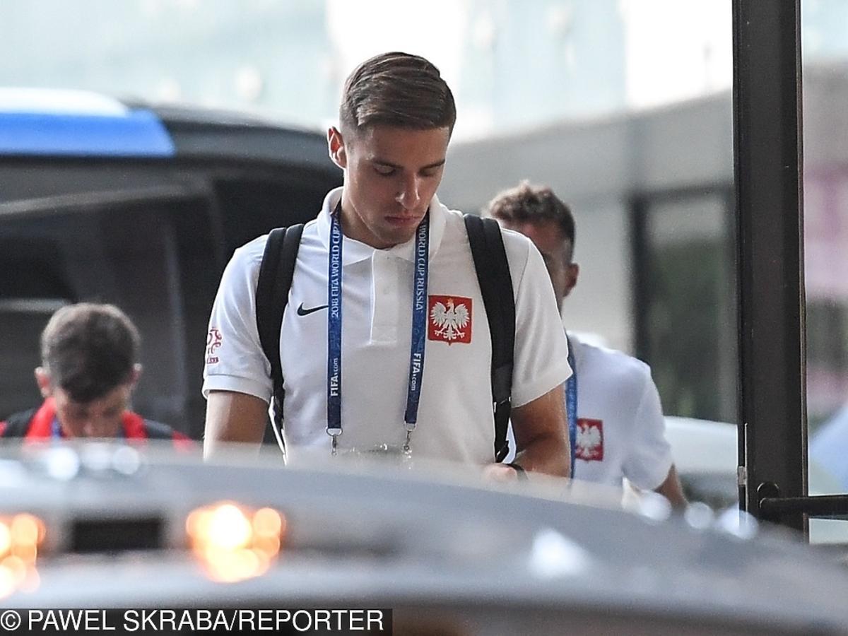 Jan Bednarek po meczu z Kolumbią w Soczi