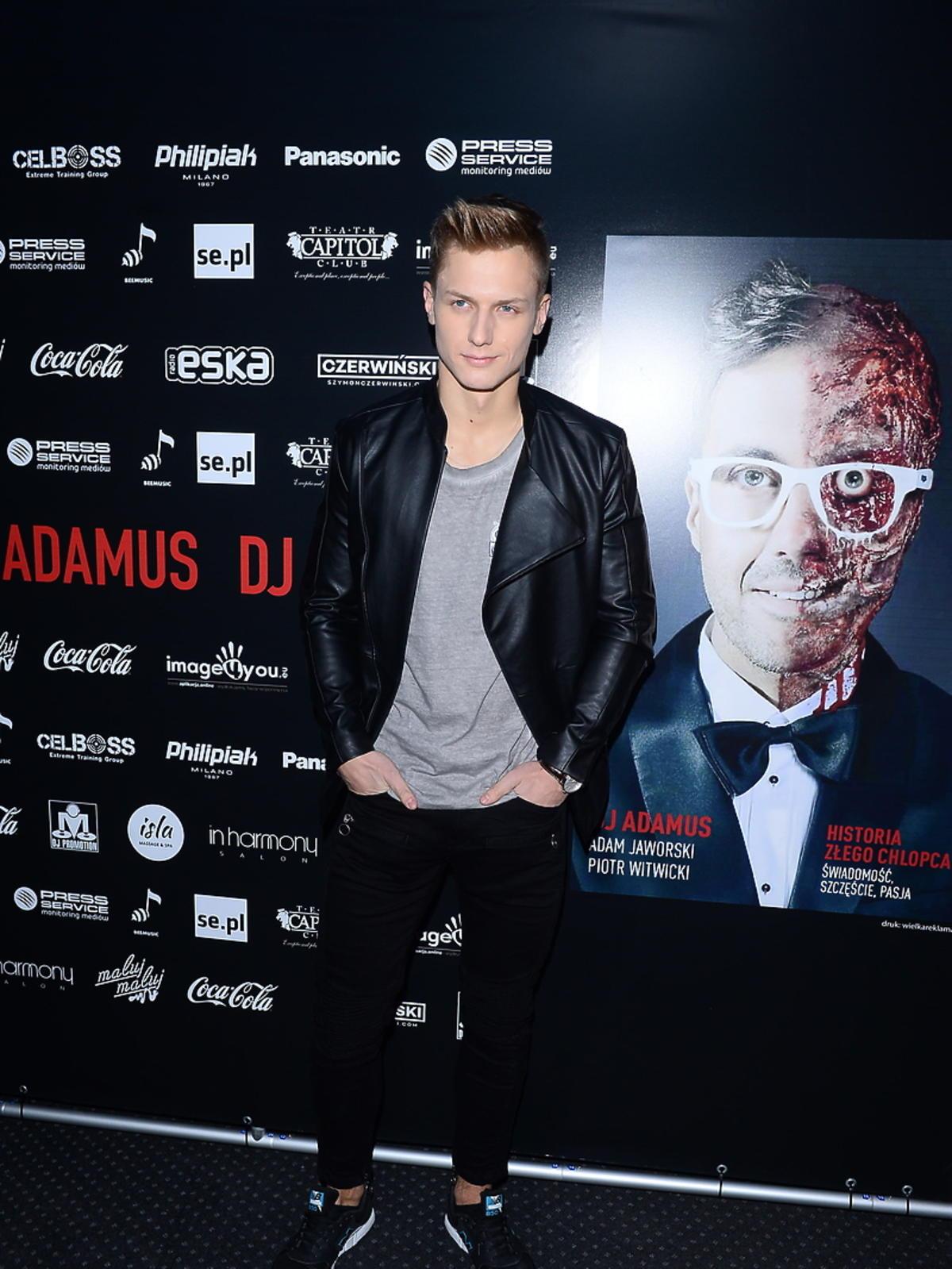 Jan Dratwicki na urodzinach DJa Adamusa