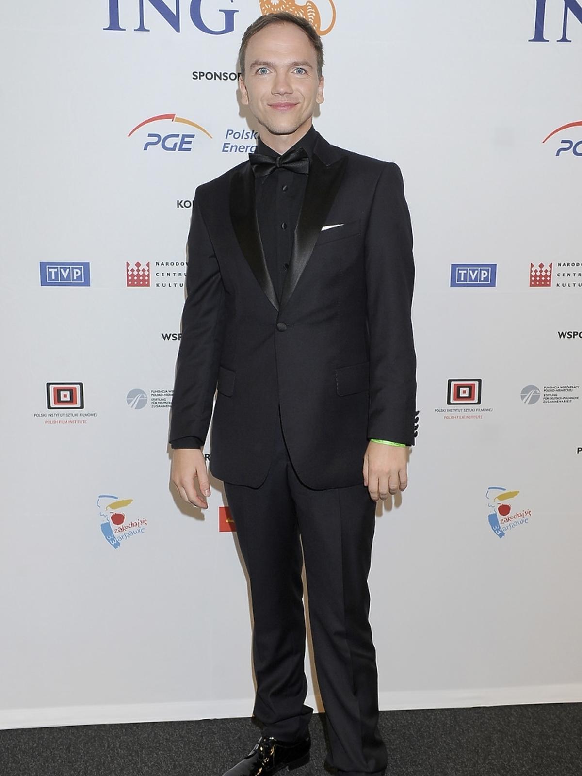 Jan Komasa na premierze filmu Miasto 44