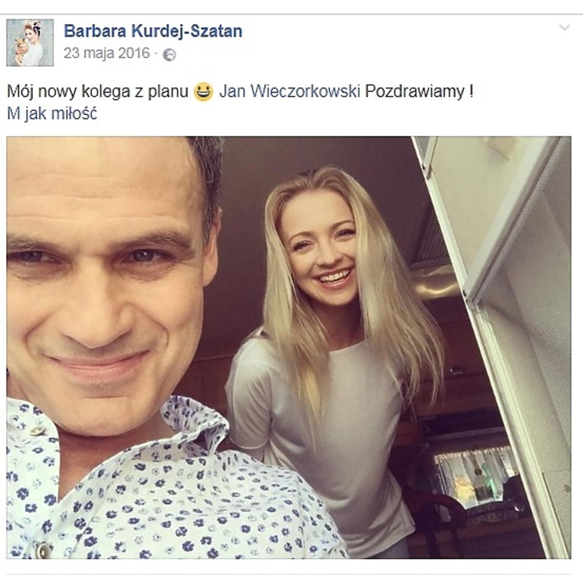 Jan Wieczorkowski, Barbara Kurdej-Szatan